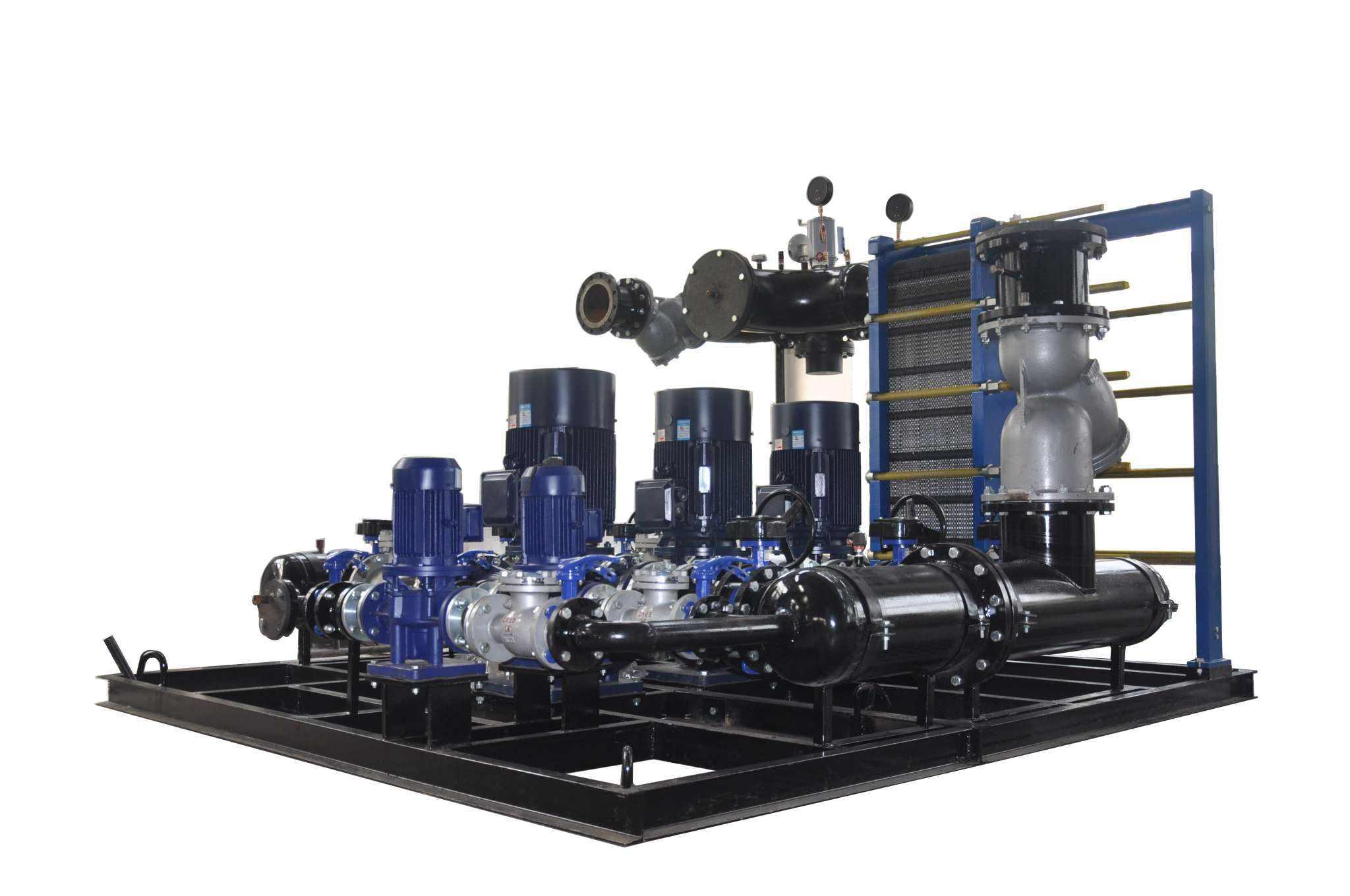 蒸汽板式换热机组